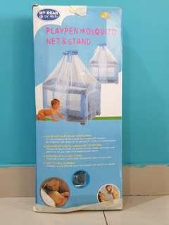 My Dear Playpen Mosquito Net & Stand