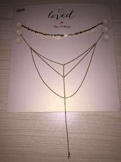 BNWT Miss Selfridge Necklace Set