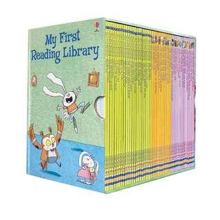 🚚 Usborne My First Reading Library