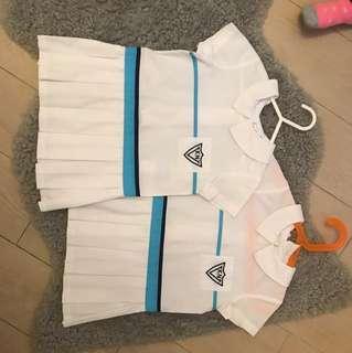 Victoria kindergarten girls uniform and backpack