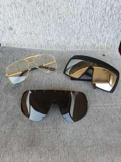 OVERSIZED SHADES (SUNGLASSES)  $20 EACH $45 FOR ALL 3. TOP LEFT AND BOTTOM  SOLD!!