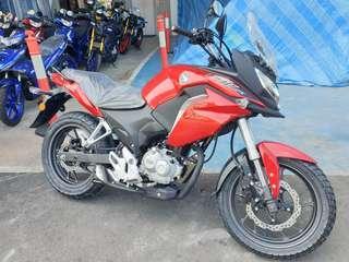 New Honda CB190X Fighthawk Red