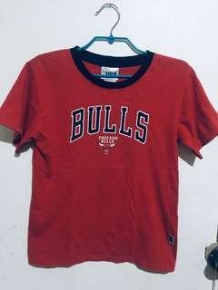 kids NBA red tshirt