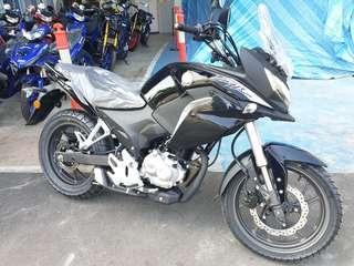 New Honda CB190X Fighthawk Black
