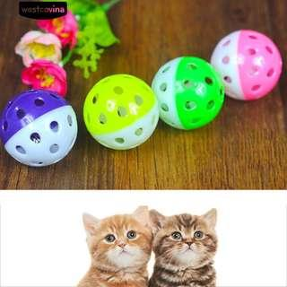 🚚 Cat Toy Ball with Bell