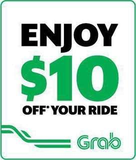 $8 for $10 GRAB PROMO CODE Voucher