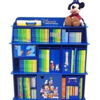 迪士尼美語世界 Disney world of English 更換 exchange