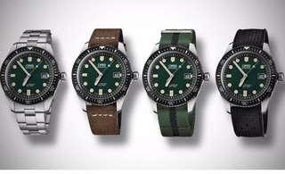 Oris diver 65 green dial
