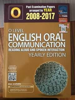 🚚 O level English oral communication TYS