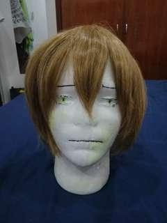 Light brown cosplay wig