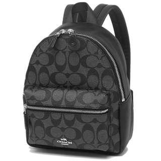 Sales! Authentic Coach F58315 Mini Charlie Backpack
