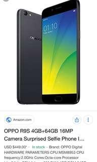 OPPO R9S PHONE