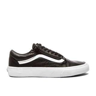 46a6ccfa5a vans old skool zip (leather black)