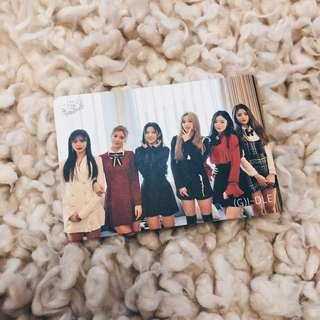 (G)I-DLE yescard