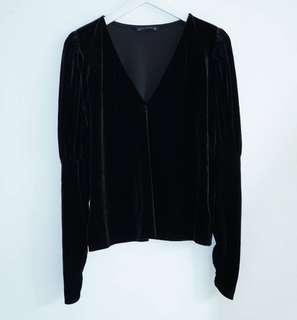 Zara Woman Black Blouse