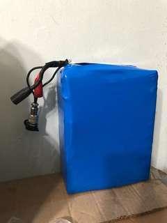 60v battery Sanyo