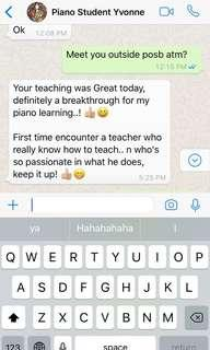 Piano and guitar teacher available for Creative and fun lessons ☺️🍭