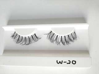 Human hair False Eyelashes