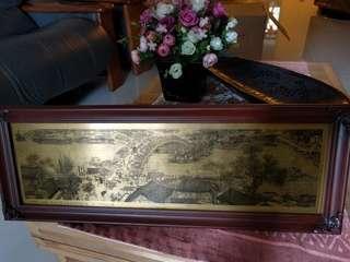 铜画: 清明上河图