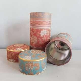 Code232: 2pcs Tin Canister