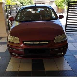 Chevrolet Aveo 1.5 (Auto)
