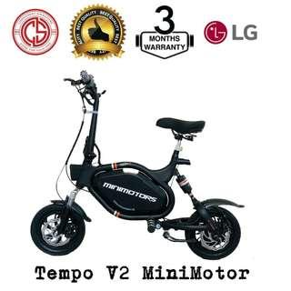 Tempo V2 MiniMotor - In-House Installment Available