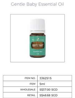 🚚 [Brand New] Young Living Gentle Baby Essential Oil