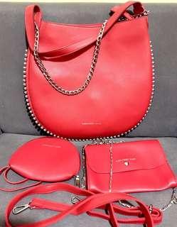 Bnew Alexander Wang Medium Hobo Convertible Bag