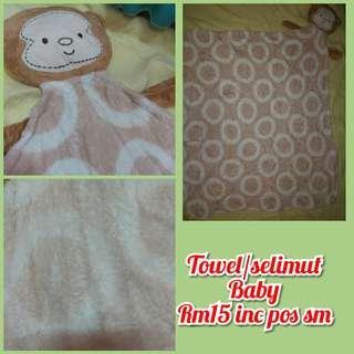 Towel/selimut baby