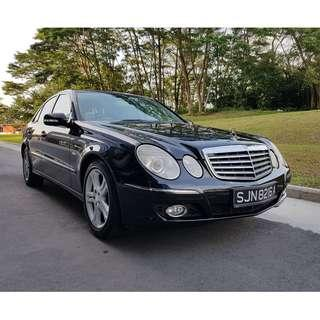 Mercedes E-Class For Lease $60/Day 6 Mths