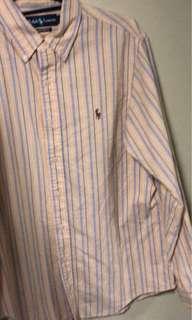 Polo Ralph Shirt - Yellow Stripes