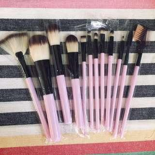 🚚 12-piece makeup brush set