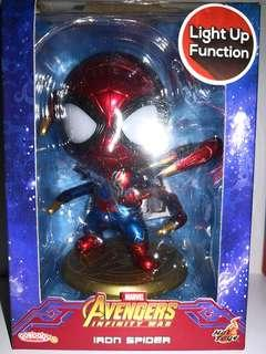 LED 眼 IRON SPIDER 蜘蛛俠 spiderman homecoming 企版 marvel hottoys cosbaby avengers infinity war