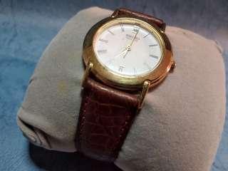seiko 精工 男/女 金色 手錶1隻。