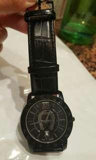 Authentic Aigner watch in genuine leather