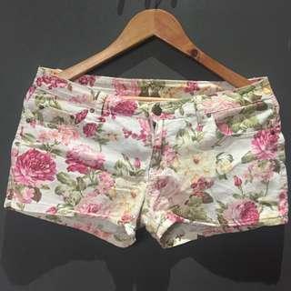 Human Floral Summer Shorts
