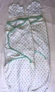 2 swaddles for $80
