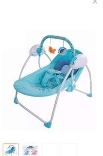 Portable swing and rocker