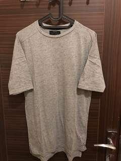 Baju / T-shirt Pull&Bear Black Label Collection (Longfit)