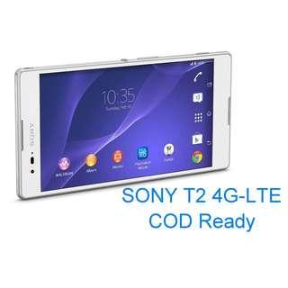 SONY Xperia T2 Ultra 6吋螢幕  4G LTE COD READY