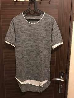 Baju / T-Shirt Pull&Bear Quality & Workmanship (Longfit)