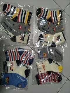 🚚 miki house baby socks for 0-2 years old
