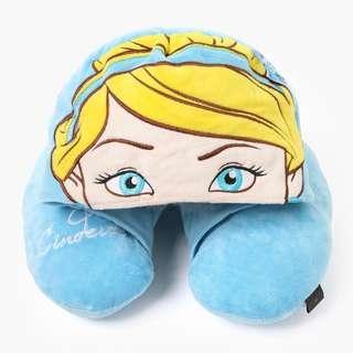 SALE‼️Disney Princess Cinderella Neck Pillow with Hood