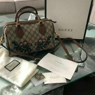 Gucci Supreme Boston Bag