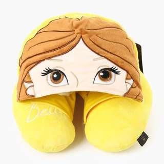 SALE‼️Disney Princess Belle Neck Pillow with Hood