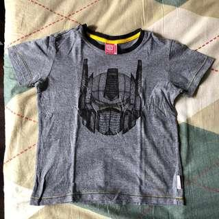 🚚 Transformers T-Shirt (suitable for 5-6 year old)