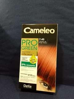 🚚 Cameleo Pro Green Permanent Hair Color Cream