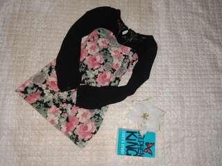 NEW* floral korean dress