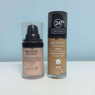 Revlon Colorstay Foundation & Revlon Photoready Pore Reducing Primer