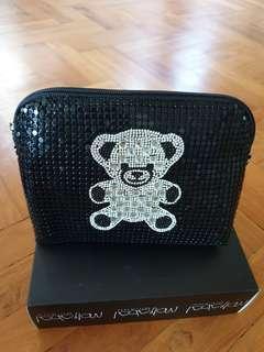 Brand New Teddy Bear Sling Bag Pouch